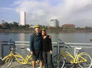 bikes in Portland