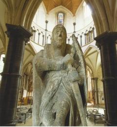 Knights Templar Statue