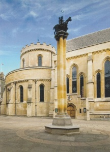 The Temple church exterior