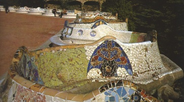 Guell Park Bench