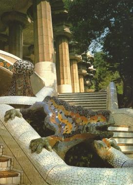 Guell Park Lizard