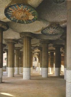 Guell Park Pillars