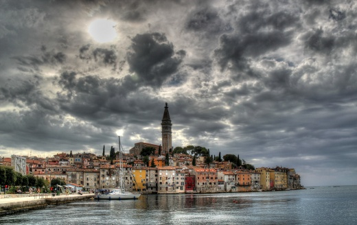 View when entering Rovinj