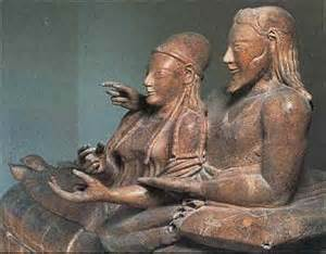 Etruscan Saracophagus of Married Couple