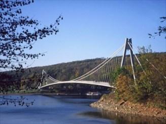Pedestrian Suspension Bridge